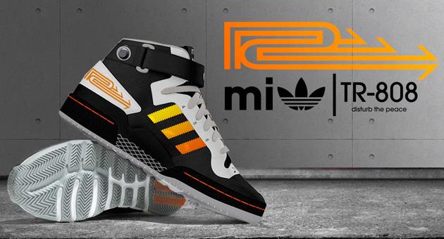 Adidas inspiradas en la Roland TR-808