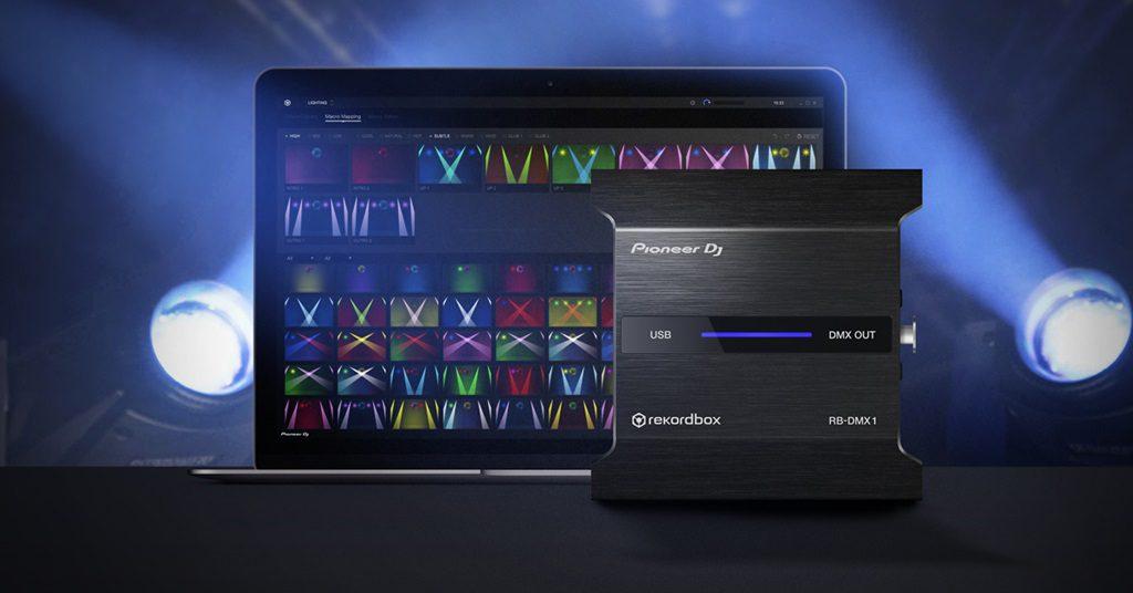 Pioneer Presenta: Lighting Mode para Rekordbox y el RB-DMX1